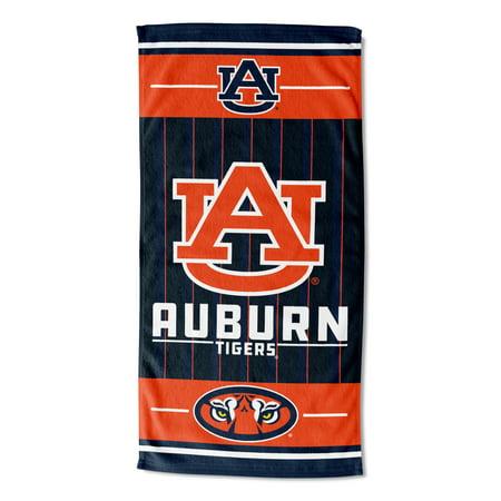 NCAA Auburn Tigers Beach Towel, 1 Each