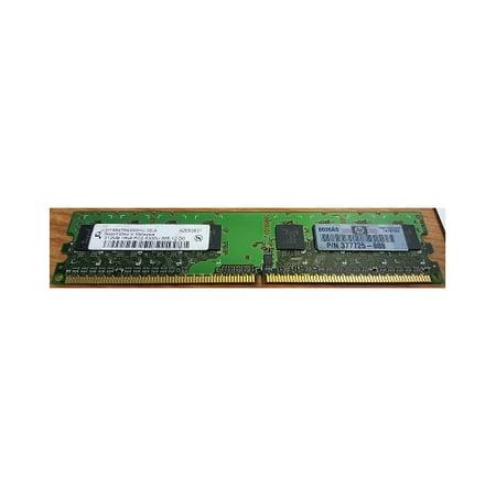 Refurbished-InfineonHYS64T6400HU-3S-AInfineon HYS64T6400HU-3S-A 512MB 240p PC2-5300 CL5 8c 64x8 DDR2-667 DIMM T007, AEV