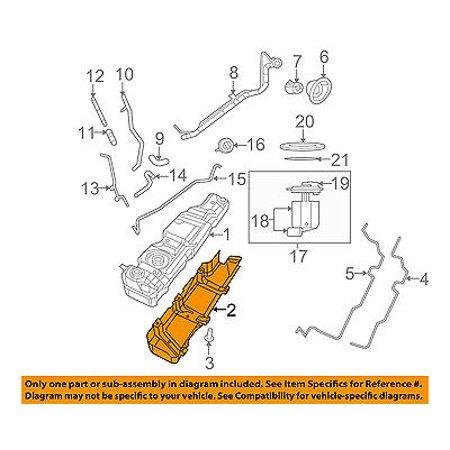 Jeep CHRYSLER OEM 12-16 Wrangler Fuel System Tank-Skid Plate Shield
