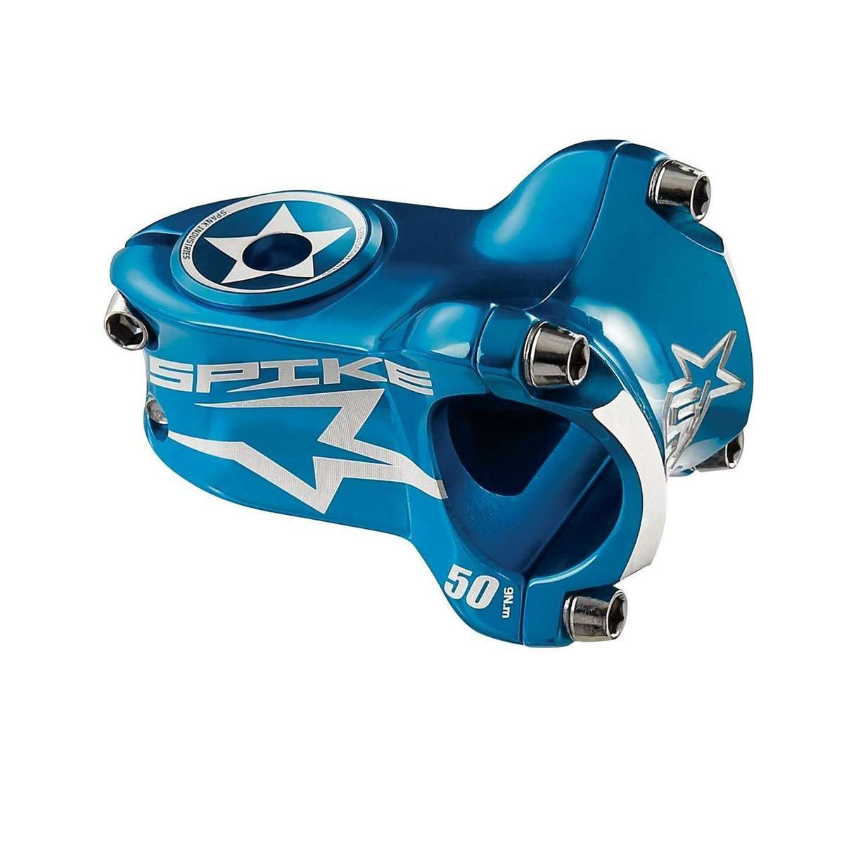 Spank Spike Race 2 Bicycle Stem - 50mm - Blue - E06SK02230AMSPK