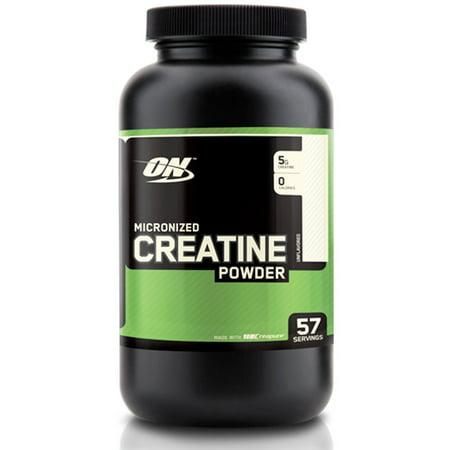 OPTIMUM NUTRITION - micronisée Créatine poudre Creapure Unflavored - 300 grammes