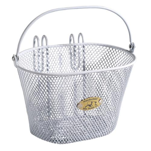 Surfside Children's Mesh Basket White