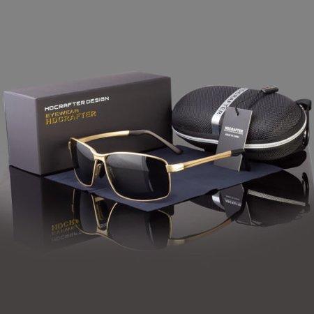 Polarized Driving Aviation Sunglasses Classic Square Full Frame (Aviation Sunglasses Review)