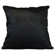 Deco Hides Cowhide Leather/Suede Throw Pillow