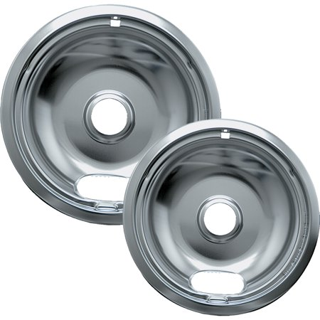 - Range Kleen Chrome Drip Pans, 2 Count