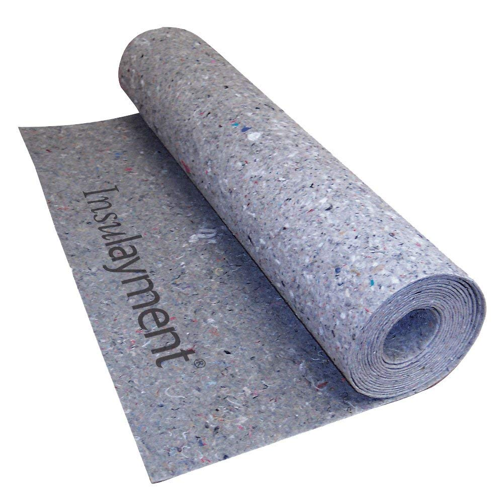 MP Global Products Insulayment Underlayment for Glue and Nail Down Flooring