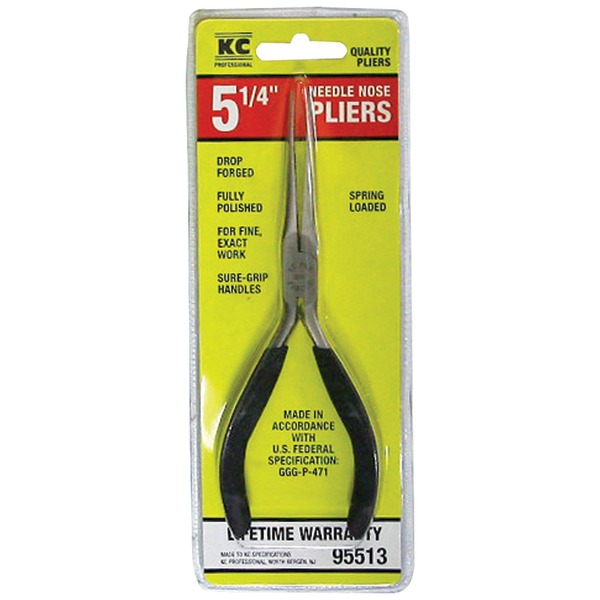 KC PROFESSIONAL 5.5IN NEEDLE NOSE PLIERS