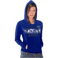 Orlando Magic Women's Teamwork Pullover Hoodie - Royal Blue