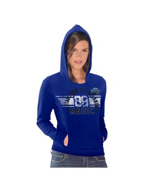 Orlando Magic Women's Teamwork Pullover Hoodie - Royal Blue