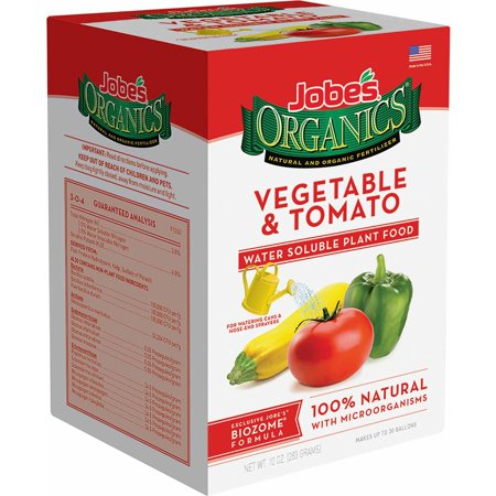 Jobeâs Organics 10oz. Water-Soluble Vegetable and Tomato