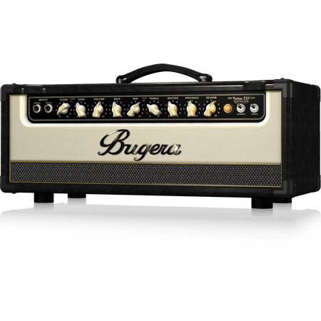Bugera V55HD Infinium Vintage 2-Channel Tube Amplifier Head w/ Reverb - 55 Watt