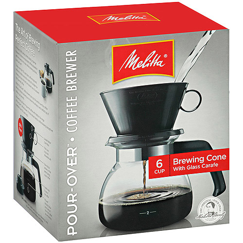Melitta 2-to-6 Cup Manual Coffee Maker, 640446