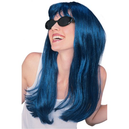 Blue Glamour Wig Rubies 50424 - Glamour Wig