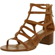 Lauren Ralph Lauren Women's Madge Leather Polo Tan Ankle-High Leather Sandal - 10M