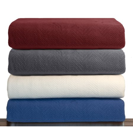 Thermal Throw (LCM Home Fashions Luxury Cotton Thermal Blanket)
