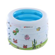 Baby Swimming Pool Baby Inflatable Bathtub Portable Pad Pool Ball Pool White