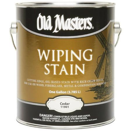 11901 1 Gallon Cedar VOC Wipe Stain