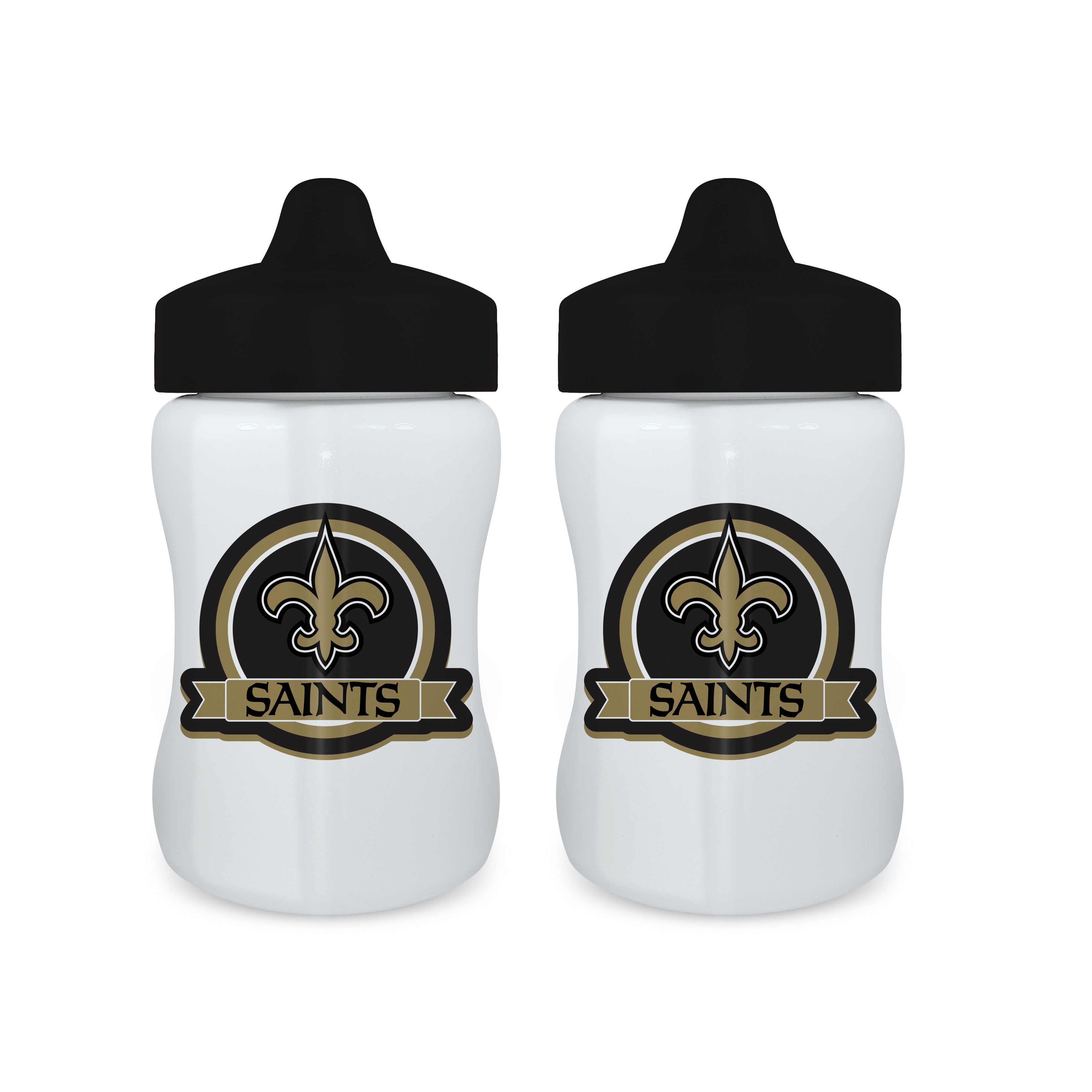 NFL New Orleans Saints 2-Pack Sippy Cups