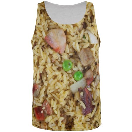 Pork Fried Rice Costume All Over Mens Tank Top Multi 3X-LG