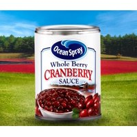 (3 Pack) Ocean Spray Whole Berry Cranberry Sauce, 14 oz