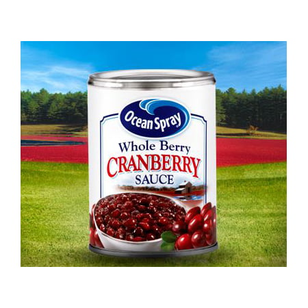 Ocean Spray Whole Berry Cranberry Sauce, 14 Oz