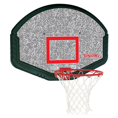 "Spalding 80348 48"" Eco-Composite Basketball Backboard and Rim Combo"