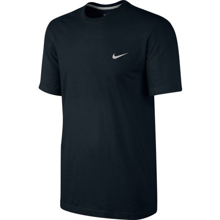 Nike Embroidered Swoosh Men's T-Shirt Athletic Black/White 707350-011