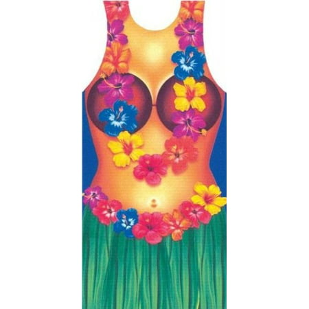 Hula Woman Apron Adult Halloween Accessory](Funny Halloween Pics For Adults)