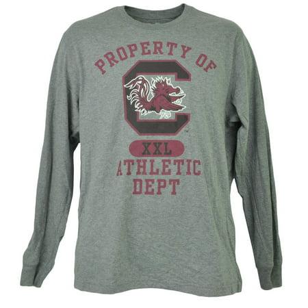 NCAA South Carolina Gamecock Long Sleeve Tshirt Tee Mens Adult Crew Neck XLarge