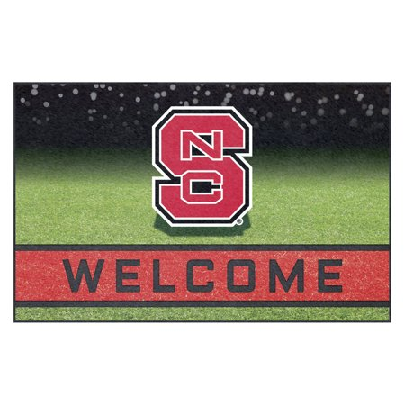 State Wolfpack Door (NCAA North Carolina State University Wolfpack Heavy Duty Crumb Rubber Door)
