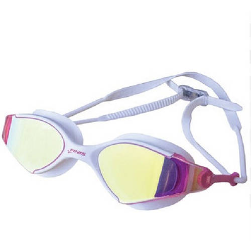 Goggles, Voltage, White/Pink Mirror