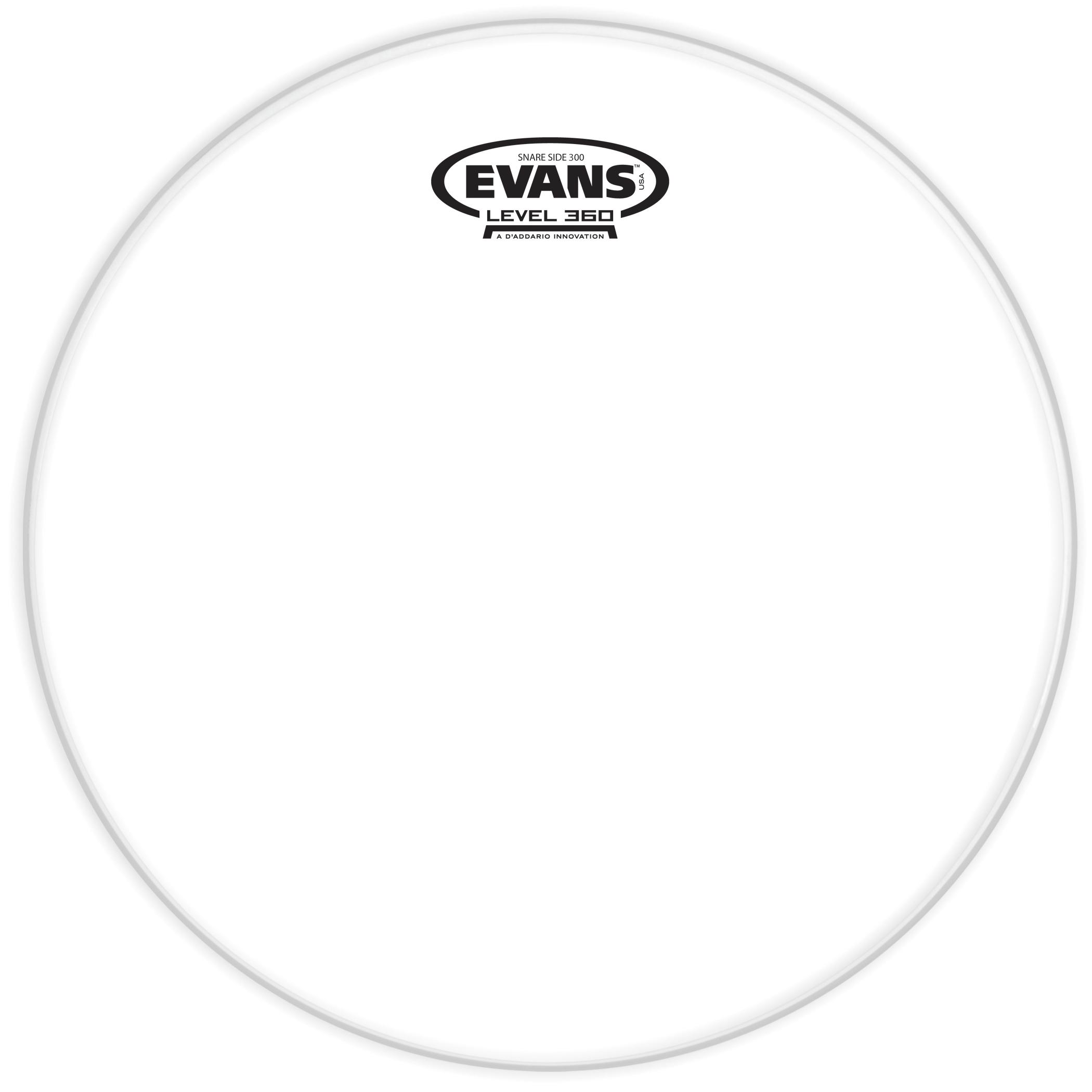 "Evans 14"" Hazy 300 Snare Bottom Drum Head by Evans"