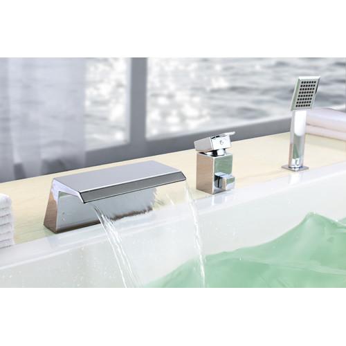 Sumerain International Group Single Handle Deck Mount Bath Tub Faucet