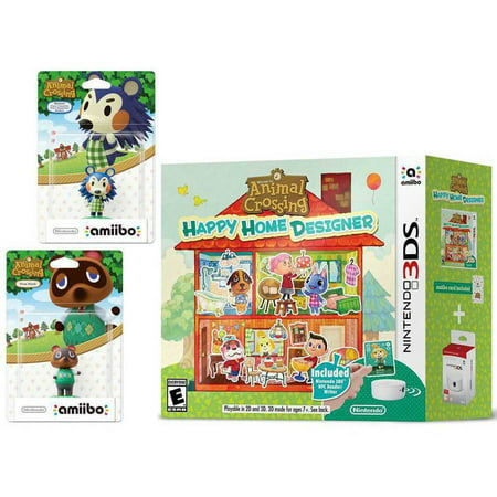 Animal crossing happy home designer bundle with amiibo - Happy home designer amiibo figures ...
