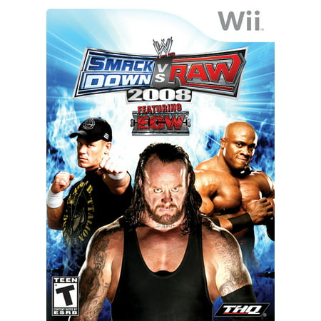 WWE Smackdown vs Raw 2008 - Nintendo Wii
