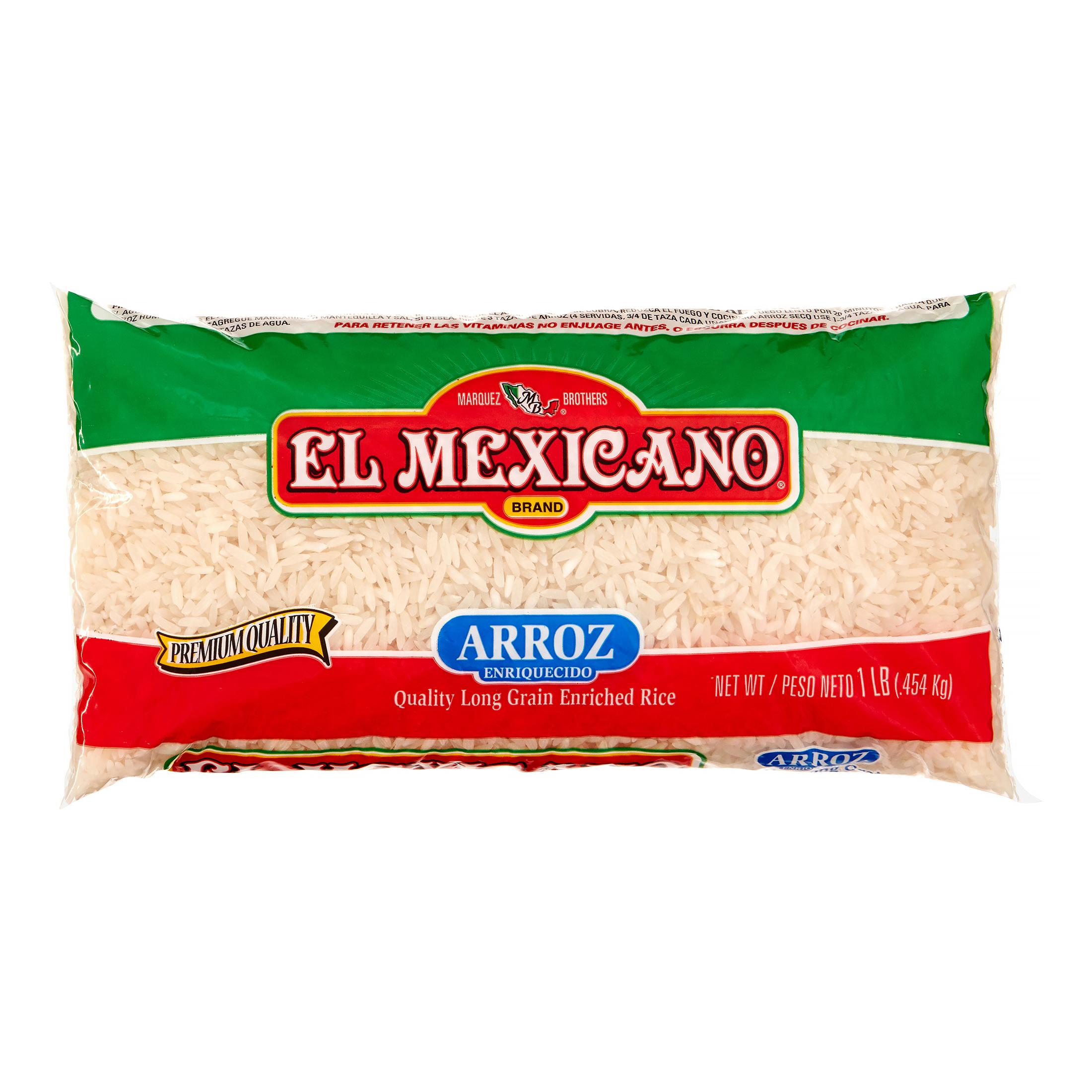 El Mexicano, Long Grain Rice, 1 Lb