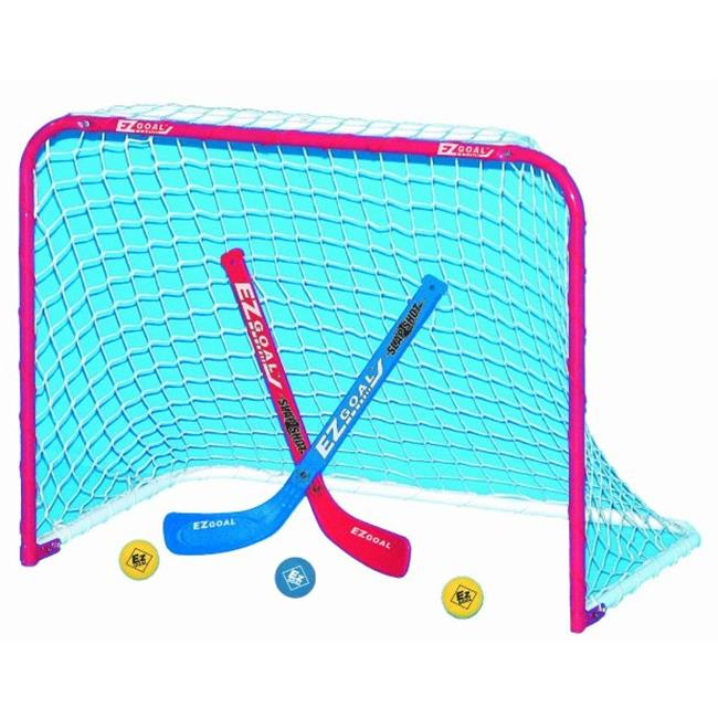 EZGoal 67200 Mini Folding Goal With 2 Sticks & 3 Balls