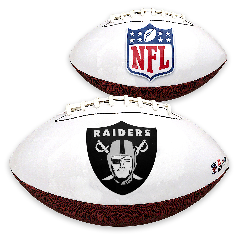 Oakland Raiders Team Logo Football - No Size