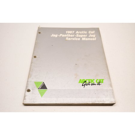 Car Service Manual - Arctic Cat 2254-351 87 Panther Super Jag Service Manual QTY 1