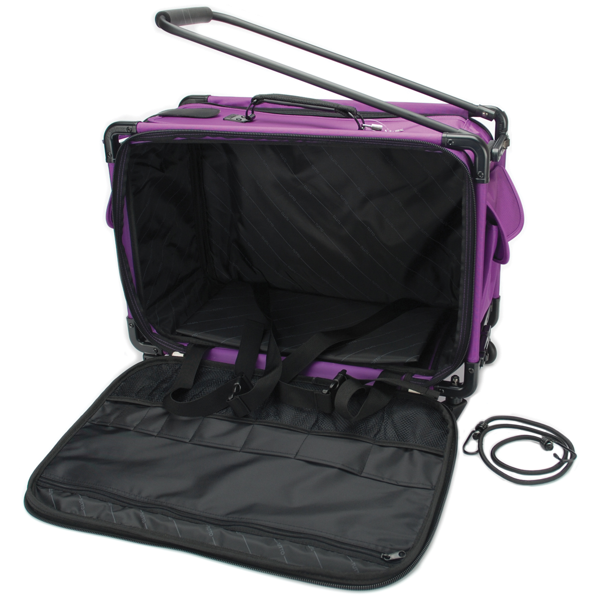 "TUTTO Machine On Wheels Case-23""X15""X12"" Purple"