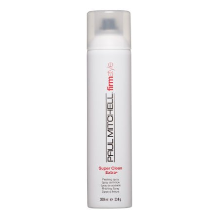 Paul Mitchell Super Clean Extra Finishing Spray, Firm Style, 300ml