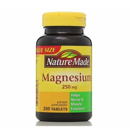 Nature Made Magnesium  Mg  Tablets
