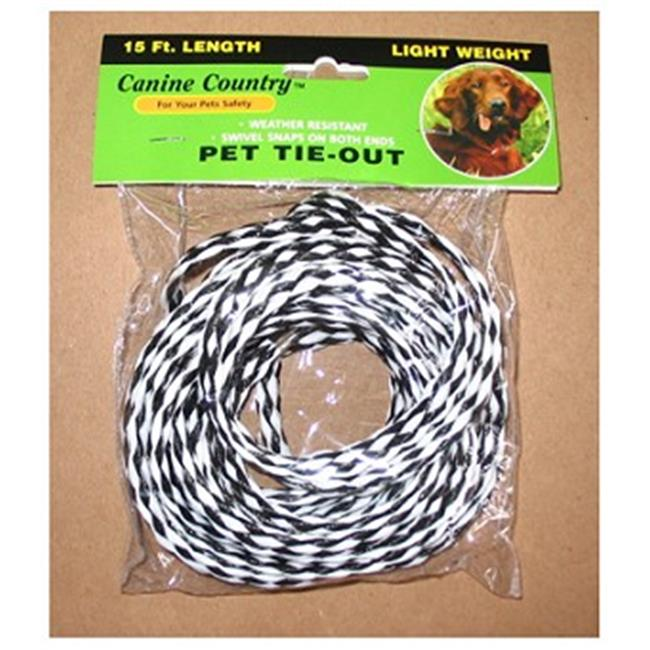 Products  0.37 x 15 in. Pet Expert Pet Tie Out, Small