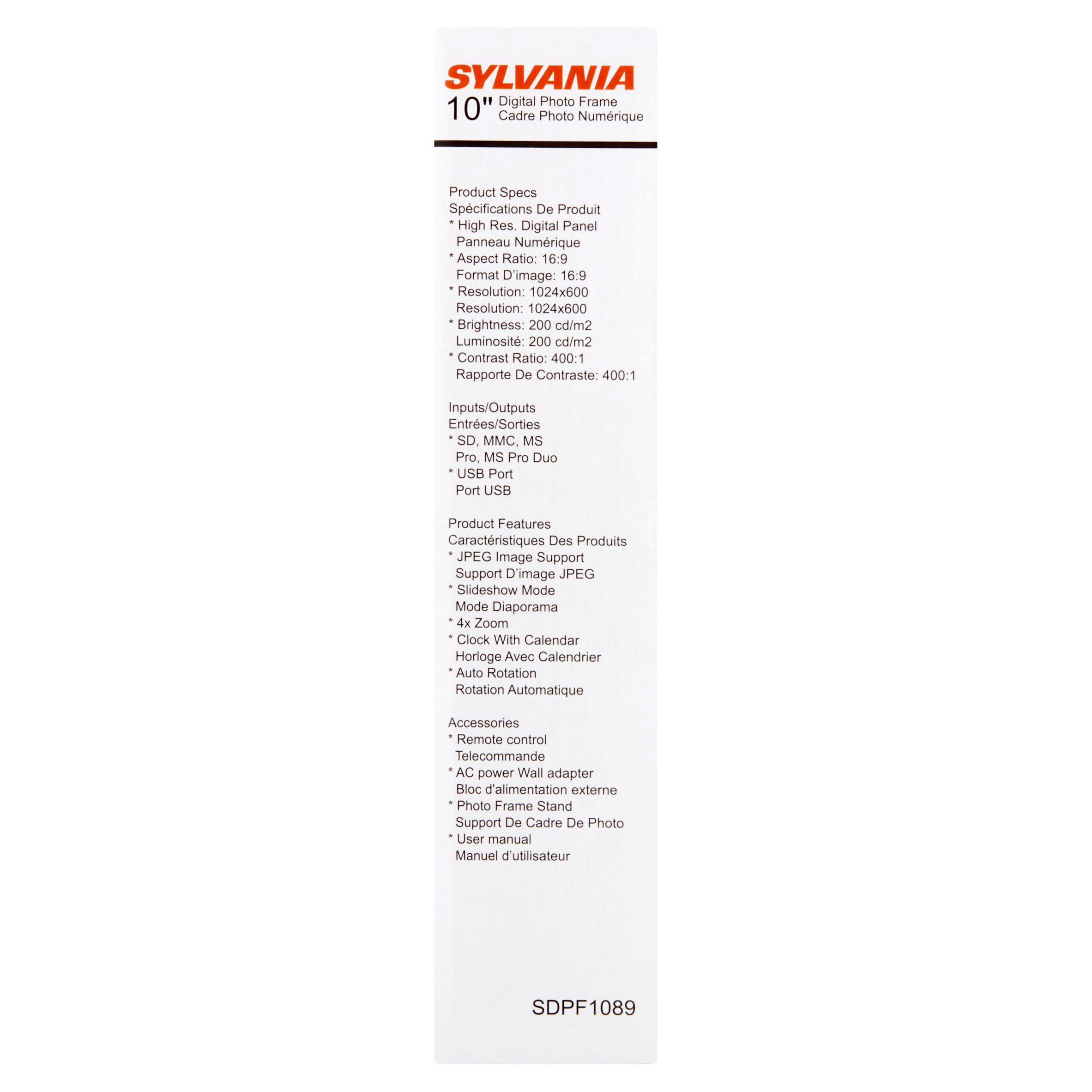 Sylvania 10\
