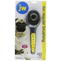 JW Pet Gripsoft Pin Brush Small -- 1 Brush