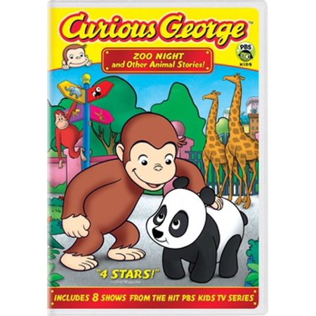 Curious George: Zoo Night & Other Animal Stories (Suzy's Zoo Halloween)