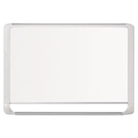 Bi-Silque Visual Communication Products MVI050205 Lacquered Steel Magnetic Dry Erase Board, 36 x 48 in., Silver & White - image 1 of 1