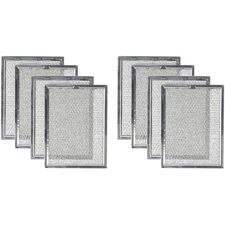 Replacement Microwave Oven Grease Filter For Frigidaire 5303319568, 8 Filters Keep your microwave functioning at its optimal efficiency with the Replacement Microwave Oven Grease Filter. This product replaces part 5303319568 and is compatible with various Frigidaire oven range hoods, countertop microwave ovens and over-the-range microwave ovens. The grease filter replacement collects grease particles from the air while you're cooking and helps keep grease out of your microwave's venting system. It comes in a set of 8 individually sealed filters.