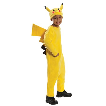 Deluxe Pokemon Pikachu Child Halloween Costume - Cat Pikachu Costume