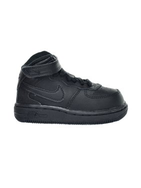 Nike Force 1 Mid Toddlers' Shoes Black/Black 314197-004